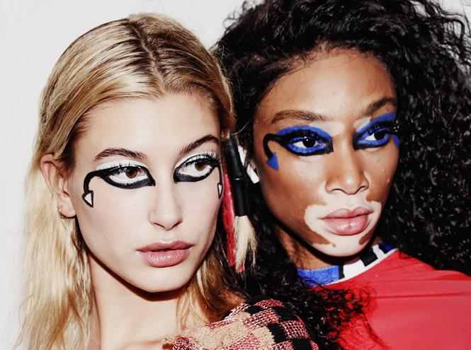 Фото №13 - Самые яркие тренды макияжа весны-лета 2018 с недели моды в Лондоне
