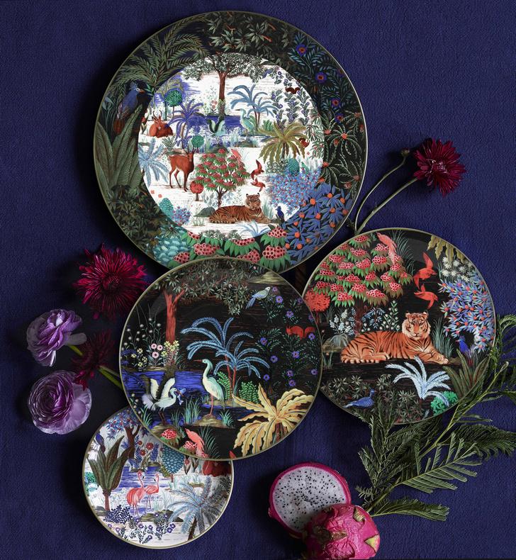Фото №1 - Лучшие тарелки для летнего застолья