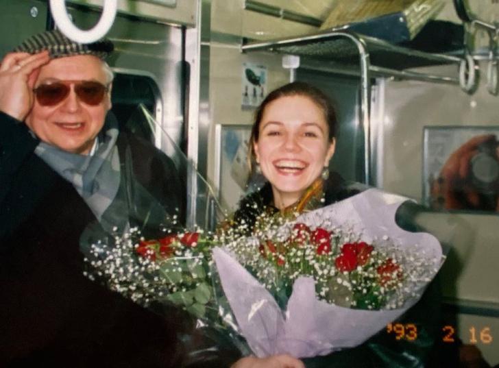 Фото №2 - Зудина показала архивное фото с Олегом Табаковым, которое раньше никто не видел
