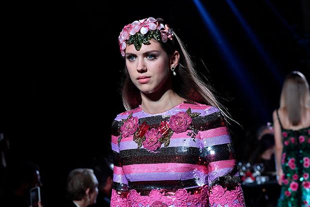 Фото №14 - Аристократки на секретном показе Dolce & Gabbana в Милане