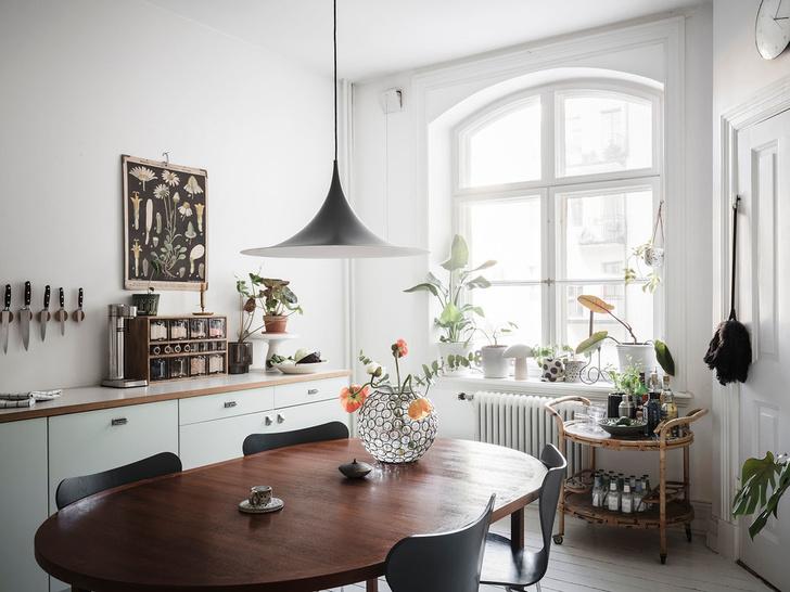 Фото №16 - Уютная скандинавская квартира с микро-спальней в Гетеборге