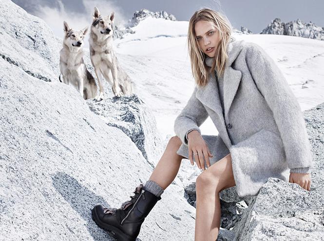 Фото №12 - Саша и волк: Саша Пивоварова для Mango