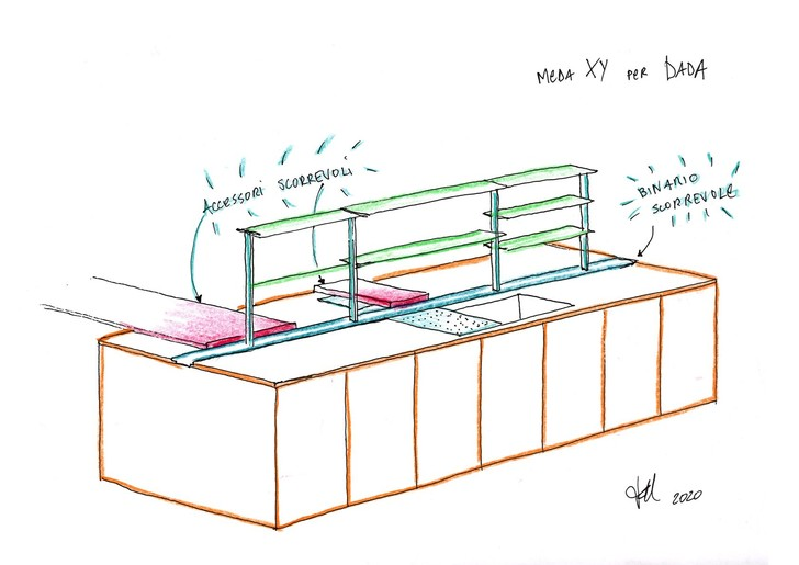 Фото №2 - Sistema XY: новый проект Франческо Меда для Molteni&C | Dada