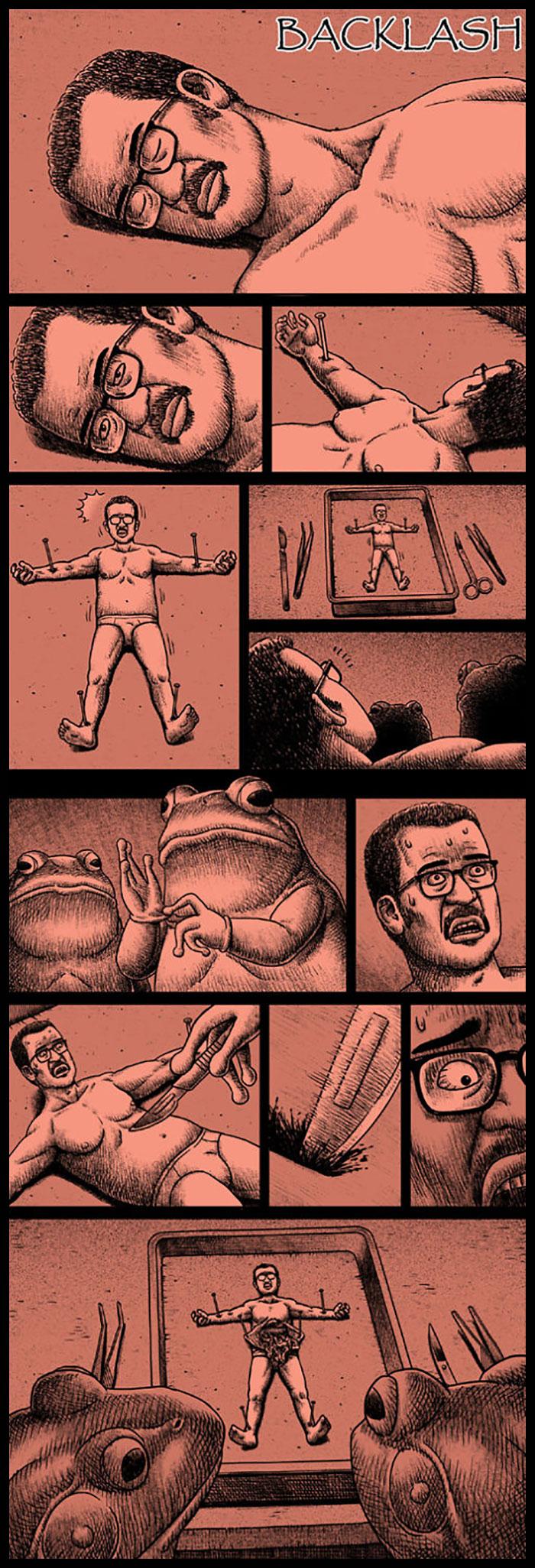 Фото №16 - 30 комиксов с отборным черным юмором от Бена Чена
