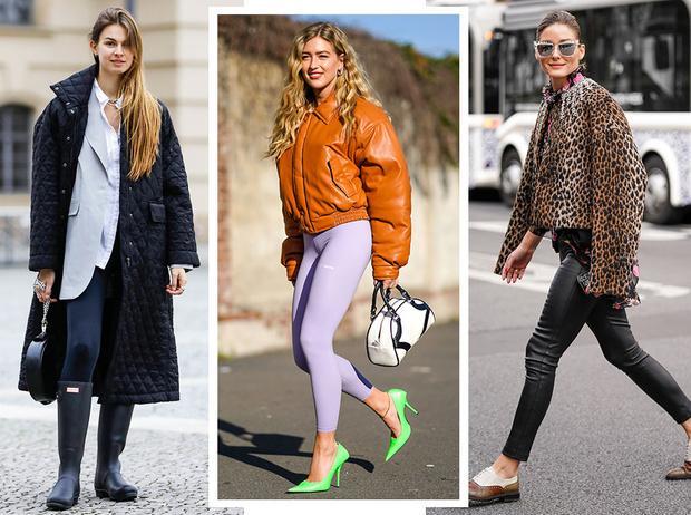 Фото №1 - Модный камбек: с чем носить леггинсы сегодня