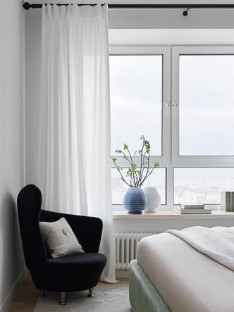 Фото №12 - Современная квартира с винтажной мебелью