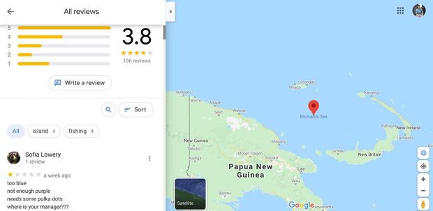 Фото №1 - Самые странные обзоры мест на Google Maps