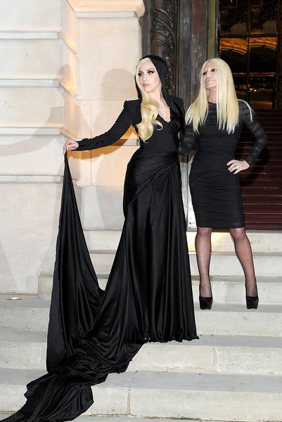 Леди Гага (Lady Gaga), Донателла Версаче (Donatella Versace), неделя моды