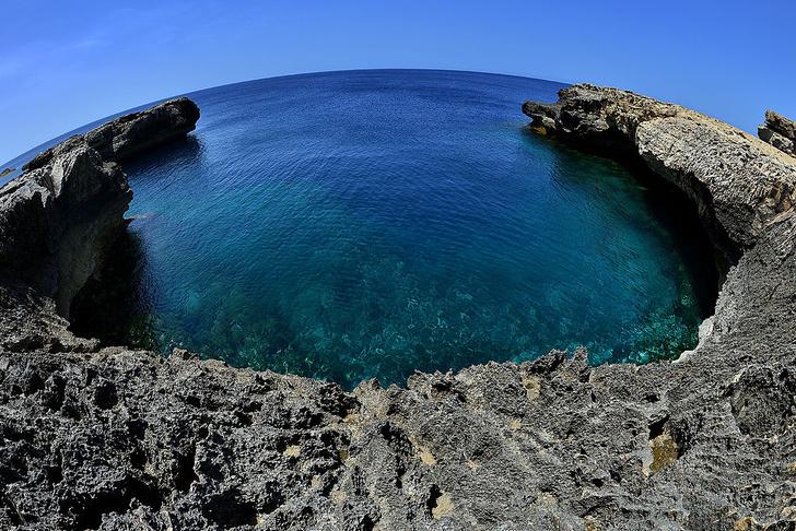 Фото №1 - Обрушившееся на Мальте Лазурное окно теперь привлекает туристов под водой