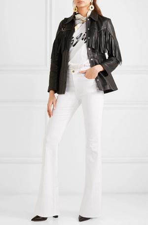 Фото №10 - 3 сочетания с белыми джинсами, которые облегчат сборы