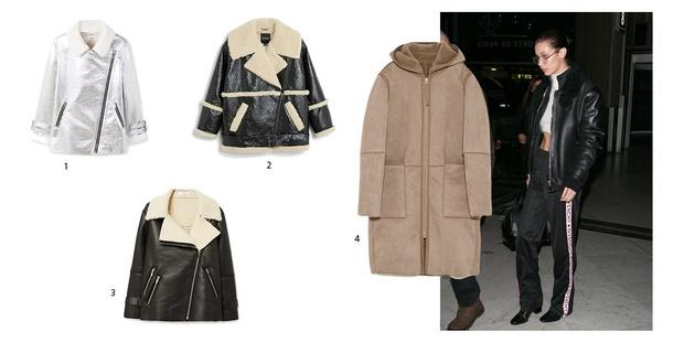 Фото №5 - Бери пример: Белла Хадид знает, какая верхняя одежда сейчас в тренде