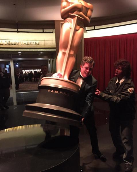 Фото №8 - Звездный Инстаграм: «Оскар-2016»
