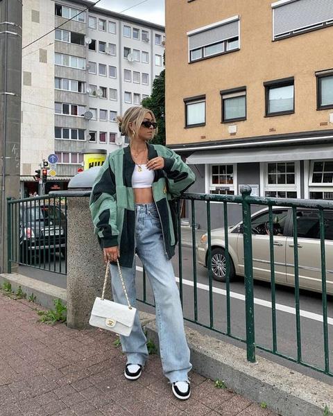 Фото №3 - С чем носить широкие джинсы: 7 стильных образов