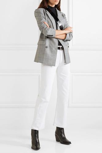Фото №6 - 3 сочетания с белыми джинсами, которые облегчат сборы