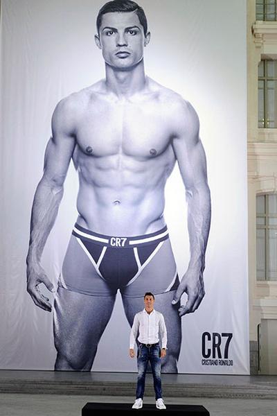 Фото №1 - Криштиану Роналду стал дизайнером мужского белья