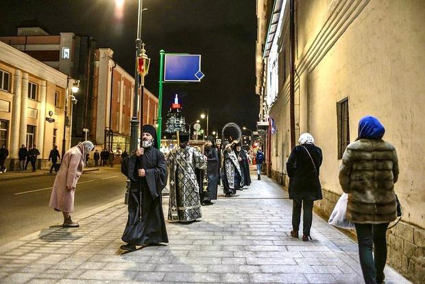 Фото №1 - В Москве начнут проводить ежедневные крестные ходы против коронавируса