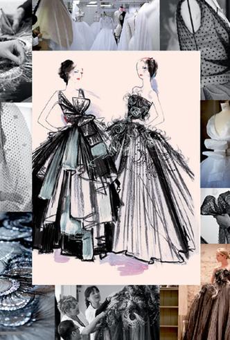 Фото №2 - Свадебное платье Dior на заказ