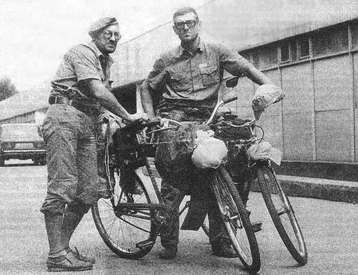 Фото №1 - «Я буду долго гнать велосипед...»