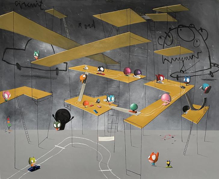 Фото №1 - Выставка «Эдгар Планс. Свобода мечтать и жить» в ММОМА