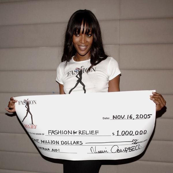 Фото №2 - Fashion for Relief: как Наоми Кэмпбелл сражается за равенство и защищает слабых