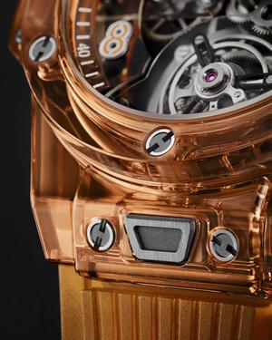 Фото №2 - Hublot представили 50 исключительных часов редкого для индустрии оранжевого цвета