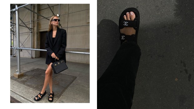Фото №1 - Самые модные сандалии лета