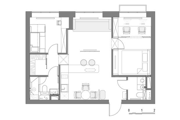 Фото №21 - Квартира 57 м² для семьи с ребенком и двумя кошками