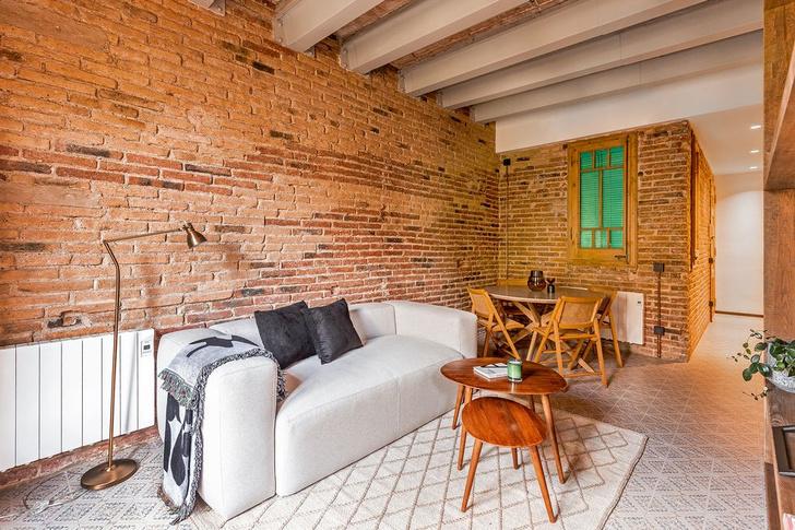 Фото №1 - Квартира со сводчатым потолком в Барселоне