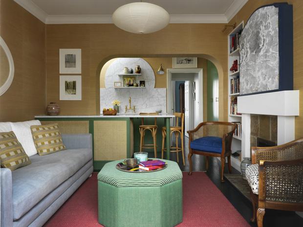 Фото №1 - Маленькая квартира с яркими акцентами в Лондоне