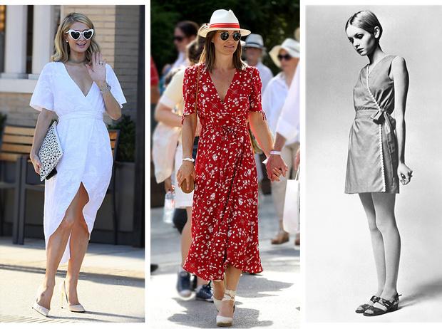 Фото №1 - Платье с запахом: прошлое и настоящее культовой, но спорной вещи