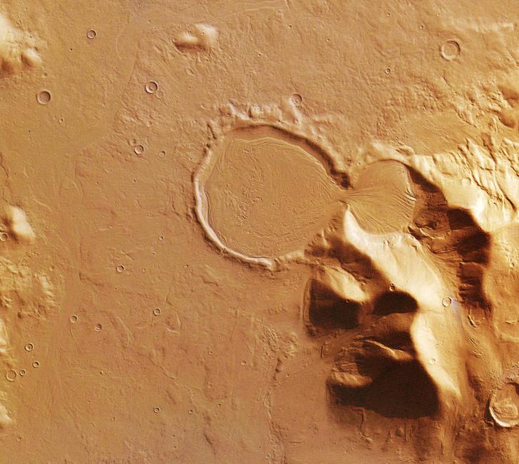 Фото №1 - Раскрыта тайна марсианских ледников
