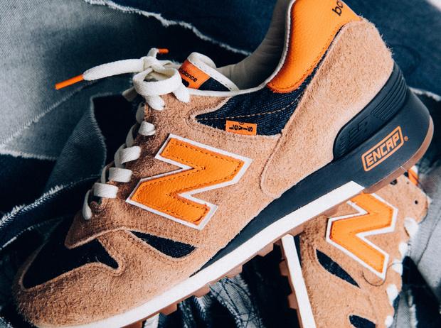 Фото №1 - Американская классика: новые кроссовки из коллаборации Levi's и New Balance