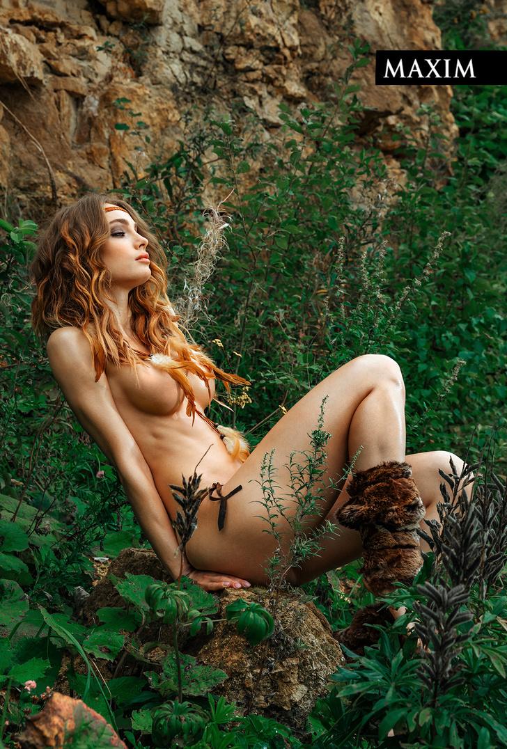 Фото №4 - Актриса фильма «Вратарь Галактики» Мария Лисовая в фотосессии MAXIM