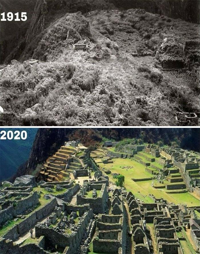 Фото №11 - 10 пейзажей, которые неузнаваемо изменило время