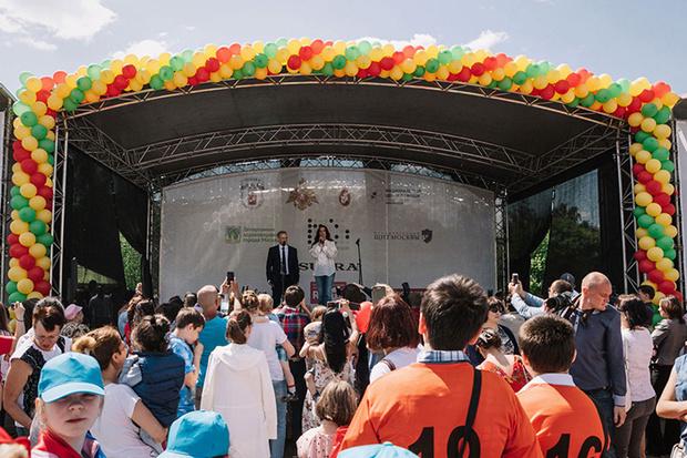 Фото №1 - Московский  ежегодный  фестиваль здоровья и безопасности детей