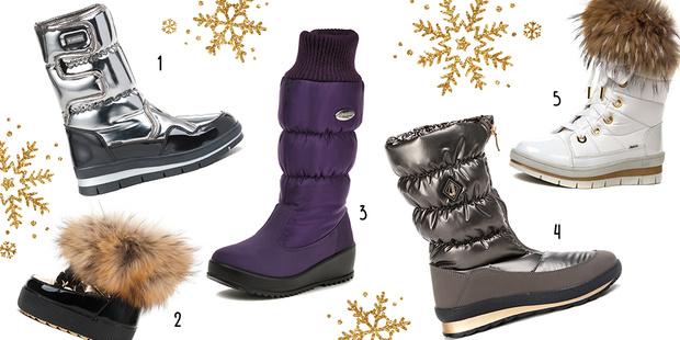 Фото №1 - Топ-10: Теплая и классная зимняя обувь
