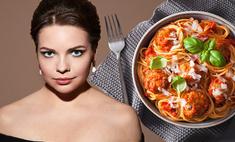 Спагетти с базиликом и томатным соусом от певицы Алины Крочевой