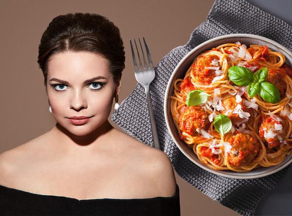 Спагетти с томатной пастой и чесноком рецепт с фото