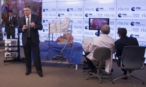 Фото №1 - В России создали первого робота-хирурга