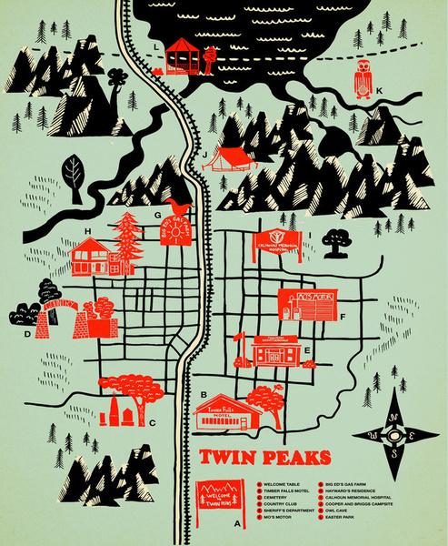 Фото №9 - Гид по вымышленным мирам: 7 карт твоих любимых городов и вселенных