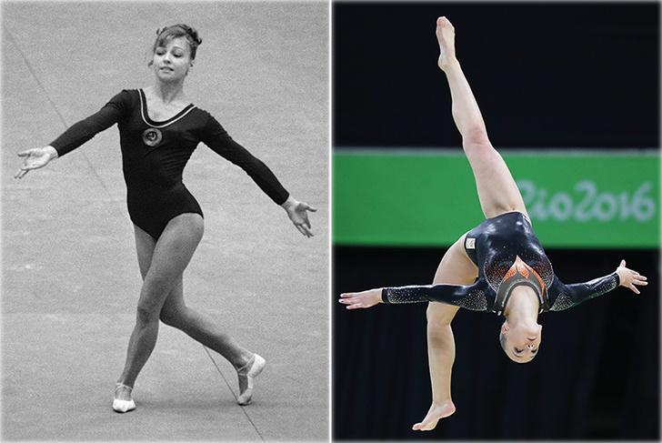 Фото №2 - Эволюция спортивной гимнастики: от табуретки до тройных сальто