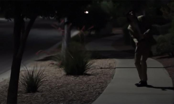 Фото №1 - Короткометражка недели: «Улыбающийся человек в два часа ночи» (2013, США, 4:08)
