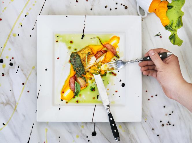 Фото №1 - Что едят шеф-повара: равиоли с омаром под соусом вонголе