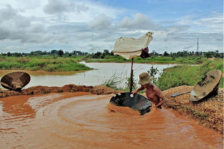 Фото №9 - Остров сокровищ: как на Борнео меняют алмазы на еду