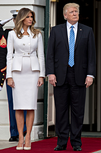 Фото №20 - Мелания Трамп: новые стандарты стиля Первой леди