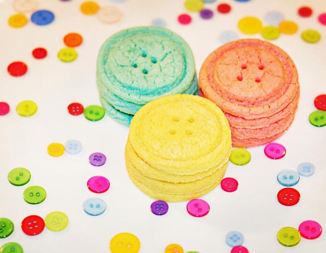 Печенье пуговицы рецепт с фото