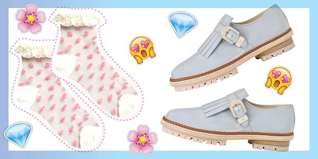 Фото №1 - Как сочетать носки с босоножками, туфлями и ботинками