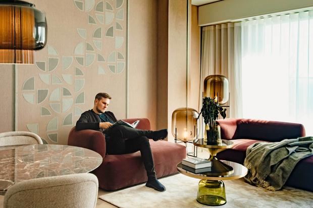Фото №1 - Апартаменты во Франкфурте по проекту Себастьяна Херкнера