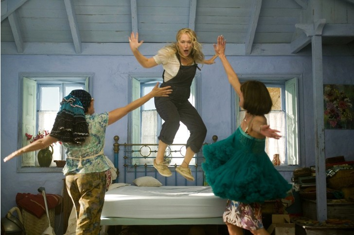 Кадр из фильма «Mamma MIA!»