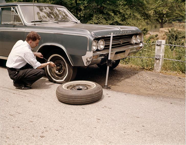 Фото №5 - Пятая нога: история и современность автомобильной запаски